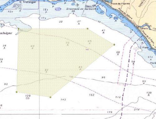 Restricción temporal de navegación entre Cabo de Trafalgar y Barbate.
